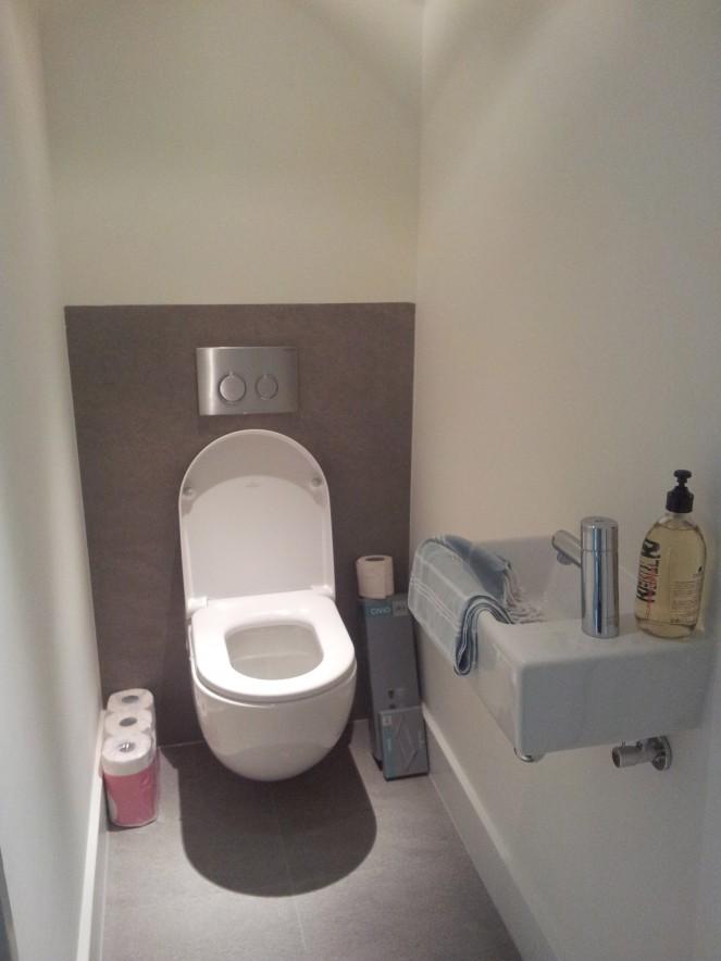 Verbouwen hrhbouw for Decoratie wc
